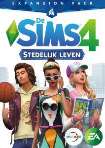 De Sims 4 Stedelijk Leven boxart