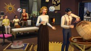Sims 4 Vintage Glamour Stuff Globebar