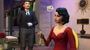Sims 4 Vintage Glamour Stuff Butler