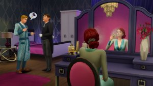 Sims 4 Vintage Glamour Make-up tafel