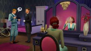 Sims 4 Vintage Glamour Make-up tafel