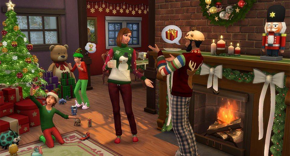 sims-4-feestdagenpakket-kerst