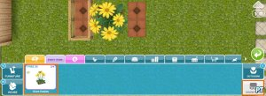 Sims FreePlay Magical Rainforest patio glitch inventory