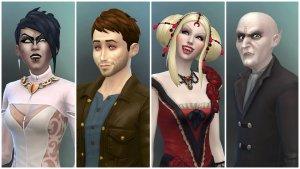 De Sims 4 Vampieren - Vampier maken in CAS