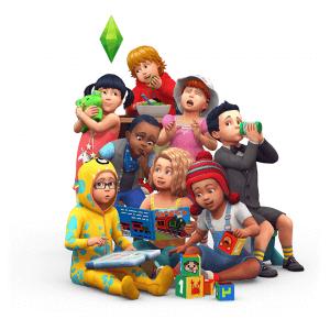 De Sims 4 Peuters