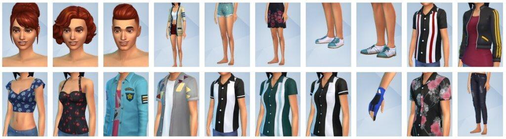 Sims 4 Bowlingavond Accessoires CAS overzicht