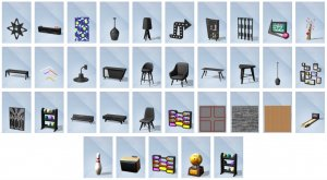 Sims 4 Bowlingavond Accessoires Bouwen overzicht