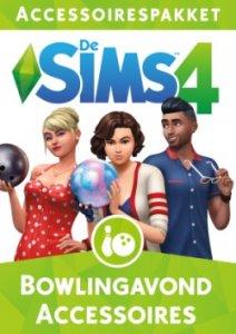 Sims 4 Bowlingavond Accessoires boxart