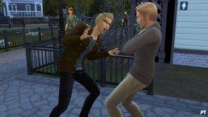 Sims 4 Vampieren - Sim laten schrikken