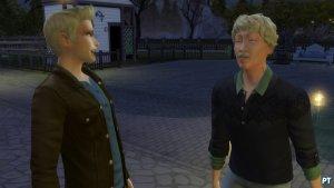 Sims 4 Vampieren plasma drinken bij een Sim