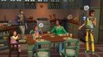 Sims 4 Ouderschap met de familie eten