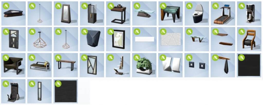 Sims 4 Fitness accessoires Bouwen overzicht
