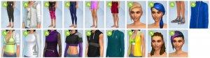 Sims 4 Fitness accessoires CAS overzicht