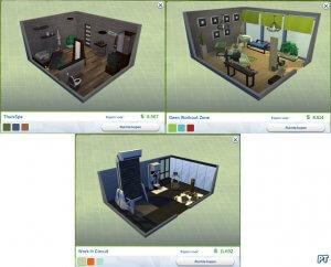 Sims 4 Fitness accessoires review 34 ingerichte ruimtes