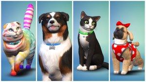 Sims 4 Honden en Katten - hondensoorten en kattensoorten in creëer een huisdier