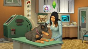 Sims 4 Honden en Katten - hond bij de dierenarts