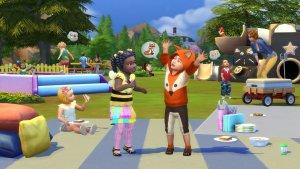 Sims 4 Peuter Accessoires Vossenkostuum en bijenkostuum