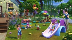 Sims 4 Peuter Accessoires Glijbaan en speelgoed