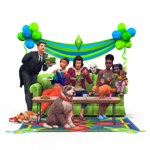 Sims 4 driejarig bestaan
