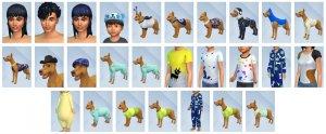 Overzicht CAS-items Sims 4 Mijn Eerste Huisdier Accessoires