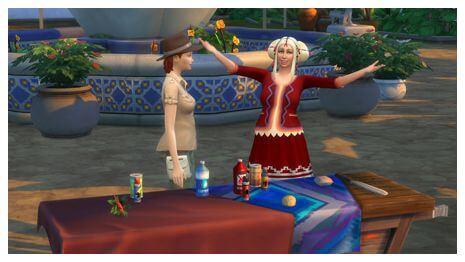 Sims 4 Jungle Avonturen lessen 03