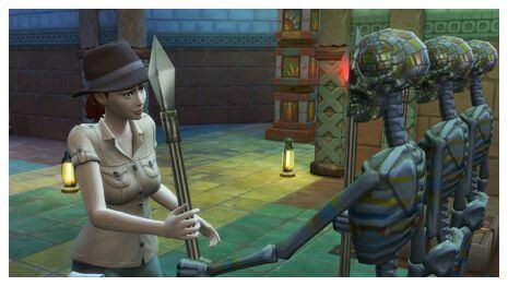Sims 4 Jungle Avonturen lessen 19