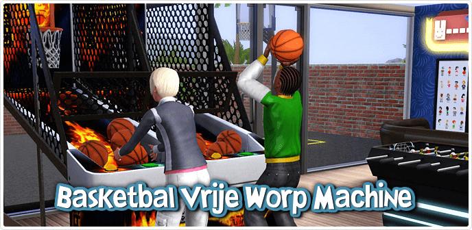 Basketbal Vrije Worp Machine