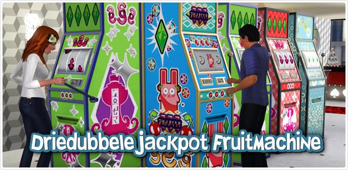 Driedubbele Jackpot Fruitmachine